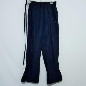 2/$30 Adidas Mens Medium Athletic Track Pants Navy